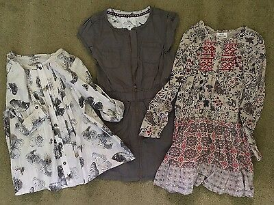 Girls 3 Item Bundle Next and H&M Age 5-6 Years - V. Good Condition