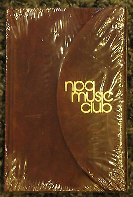 Prince Rock Roll Hall FAME  NPG Music Club Rare Merchandise  Sealed Journal