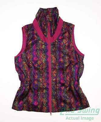 New Womens EP Pro Golf Vest Medium M Multi MSRP $118