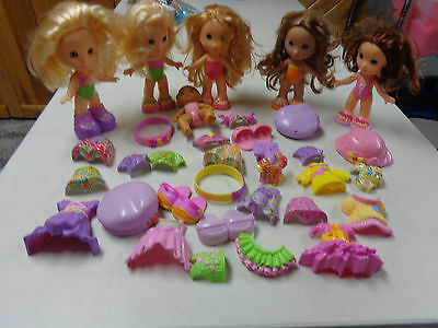 Fisher Price Snap N Style Dolls  Outfits  Mega Lot  Dolls Outfits   Big Lot Set