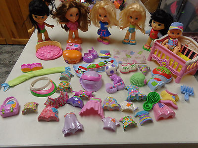Fisher Price Snap N Style Dolls  Outfits  Mega Lot  Dolls Outfits  Baby  55 Pcs