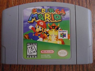 Super Mario 64 (Nintendo 64, N64) Cart Only -- Authentic