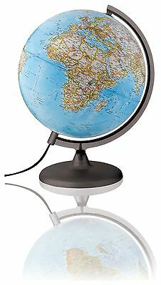 National Geographic Classic Illuminated Globe - 25 cm :The Official Argos Store