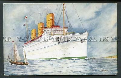 "1930/s Col Pc Canadian Pacific ""empress Of Britain"""