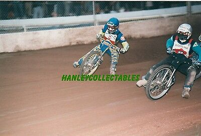 SWINDON   v  ISLE  OF  WIGHT    SPEEDWAY   ACTION   PHOTO