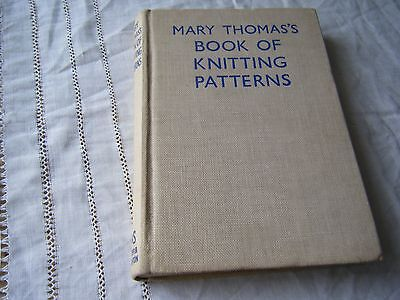 Mary Thomas's Book Of Knitting Patterns, 1940's