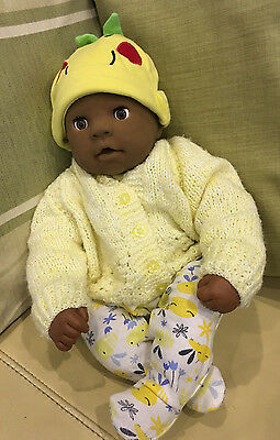 ZAPF CREATION ETHNIC LOVE ME CHOU CHOU DOLL - RARE - KICKS & CRIES 19 inch