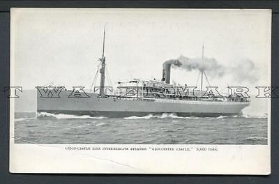 "C1906 Union Castle Line Intermediate Steamer ""gloucester Castle"""
