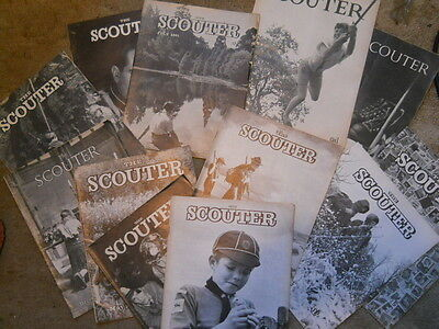 The Scouter, Magazine, 12 Issues 1958 - 1965