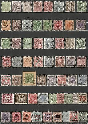Wurttemberg  Germany nice  Collections , mint/used  stamps