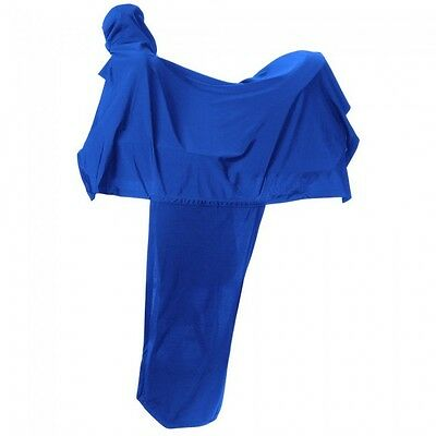 Tough-1 Lycra Western Saddle Cover - Royal Blue - NWT -