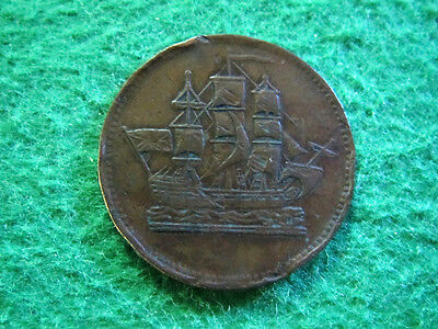 ND Prince Edward Island Ships Colonies & Commerce Token - Free U S Shipping