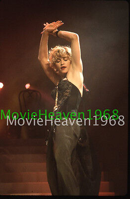 MADONNA VINTAGE 35mm SLIDE TRANSPARENCY 12754 PHOTO
