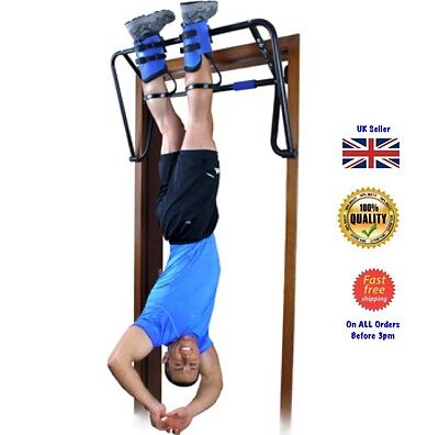Teeter Hang Ups EZ-Up Inversion System Gravity Boots Rack Chin Fitness Weights