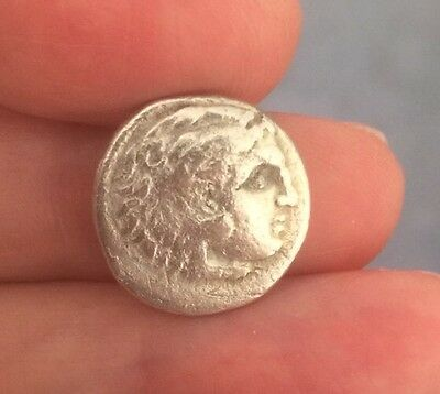 Macedon. Alexander The Great (336-323 B.c). Silver Drachm