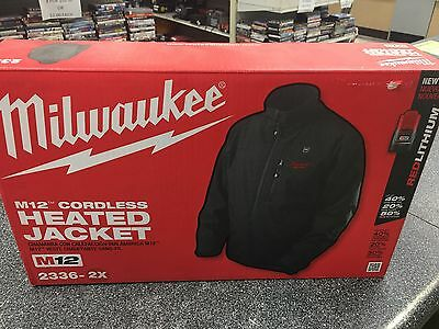 Milwaukee Heated Jacket 2336 2X Size New In Box