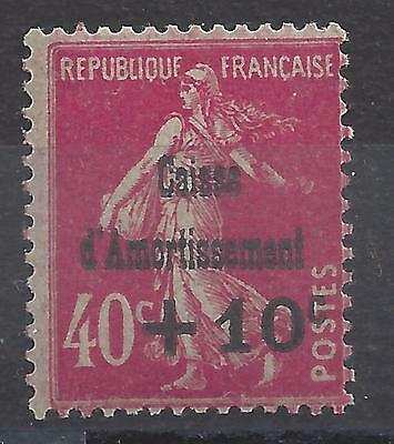 CAISSE d'AMORTISSEMENT N° 266 - NEUF SANS CHARNIERE - LUXE