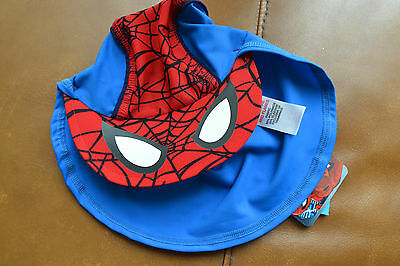 BNWT Toddler boys Spiderman summer sun hat  Age 3-23 months