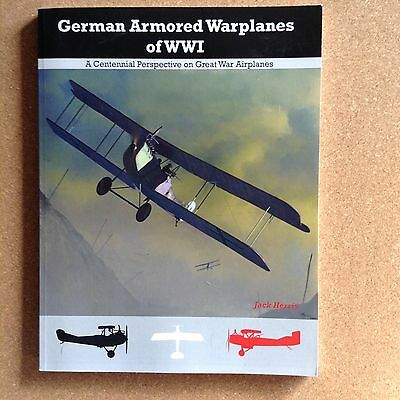 German Armoured Warplanes Of Ww1 ,aeronaut Books