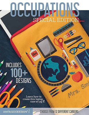 Anita Goodesign OCCUPATIONS Special Edition Collection 37AGSE -NEW SEALED