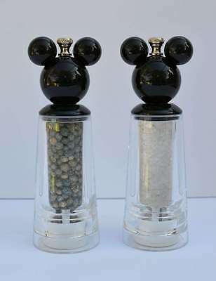 Disney Parks Tall Salt & Pepper Grinder Best of Mickey Mouse Kitchen New