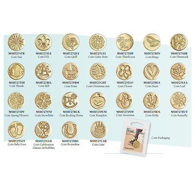 Manuscript Decorative Wax Sealing 18mm Coin Seals