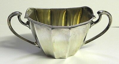 Sugar Bowl with Handles Webster Sterling Silver Vintage
