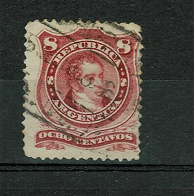 (1877-87).GJ.54A. Rivadavia (Type II). Used. Very good condition.