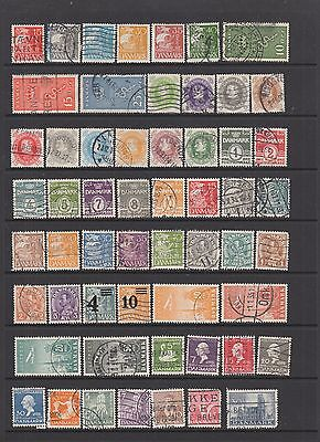 Denmark collection from 1927 onwards, 150 stamps