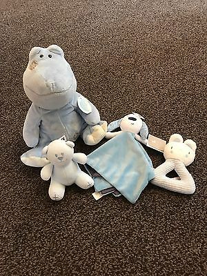 Baby Soft Toy And Rattles Bundle