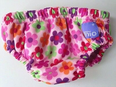Bambino Mio Girls Reusable Swim Nappy Flowers 16-21 Lbs 7-9kg Free Delivery!