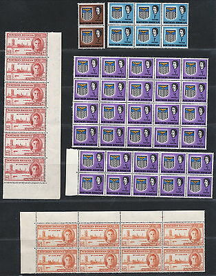 N.rhodesia  Mixture Lot With Multiples Mnh.       A169