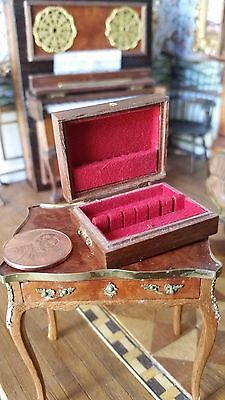 Vintage Dollhouse Miniature Artisan Judy Beals Silverware Chest #2