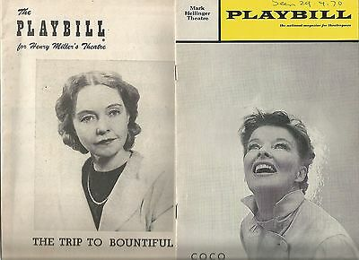 Collection Of Broadway Playbills(Programmes)