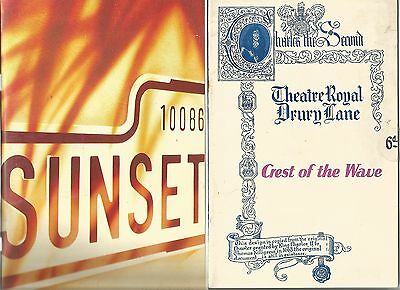 """Collection Of """"musicals"""" -Vintage Theatre Programmes"""