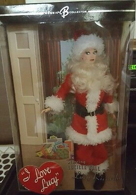 """I Love Lucy Barbie """"the Christmas Show""""  Mint Nrfb"""
