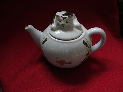 Whimsical Teapots Feline Collection by WADE - Cat Teapot