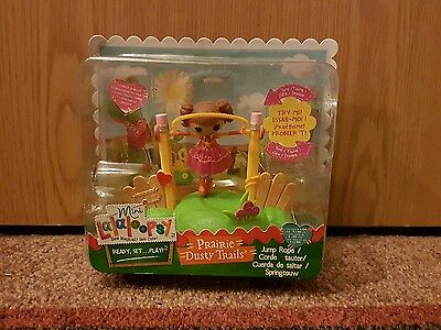 Mini Lalaloopsy Doll Playground - Prairie Dusty Trails Jump Rope New In Box GIFT