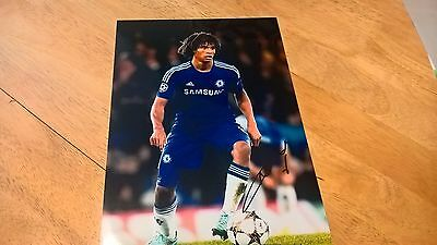 Nathan Ake - Chelsea - Hand Signed Action Photo