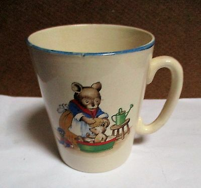 Vintage Teddy Mug - Made in England -