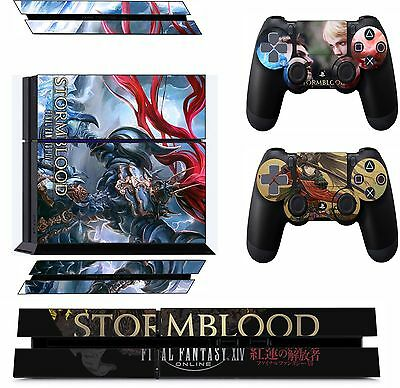 final fantasy xiv  ps4 Skin Decal Stickers Playstation 4 Console & Conttrollers