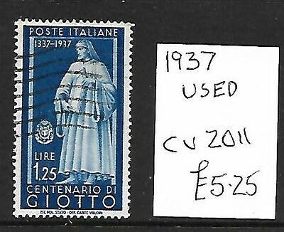 (266c) ITALY, Used Stamp, 1937, Cat val 2011 £5.25