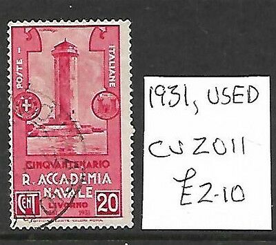 (260c) ITALY, Used Stamp, 1931, Cat val 2011 £2.10