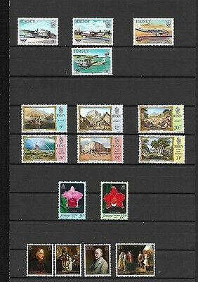 (096c) JERSEY, MNH Stamp Collection