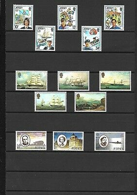 (099c) JERSEY, MNH Stamp Collection