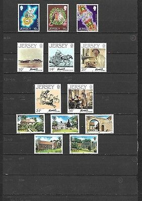 (100c) JERSEY, MNH Stamp Collection