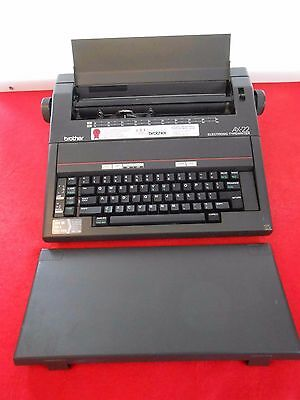 Brother Electric Electronic Typewriter Ax-22 Tested Works Great Usa Made Nice!!!