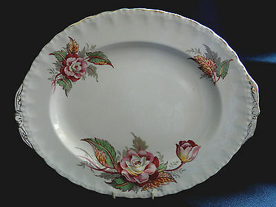 "Grindleys ""cream Petal"" Serving / Meat Plate"