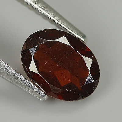 Precious 1.26 Ct Natural Africa ALMANDINE RED GARNET Oval Gemstone !!