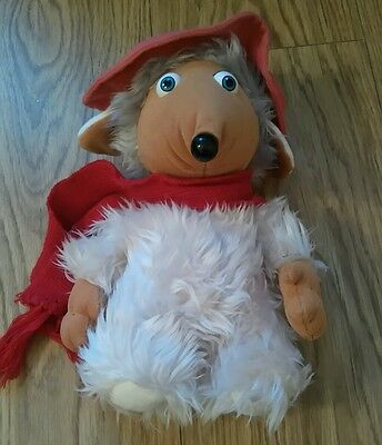 """Vintage 1998 Elizabeth Beresford The Wombles Orinoco 10"""" Character Soft Toy"""